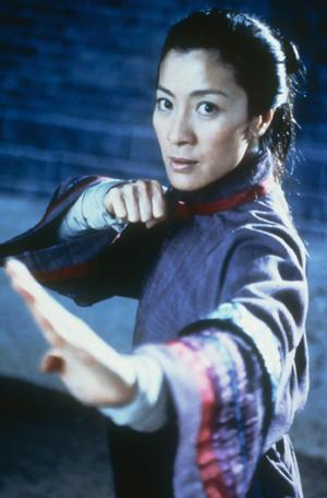 Michelle Yeoh Fight Thematically  again quite