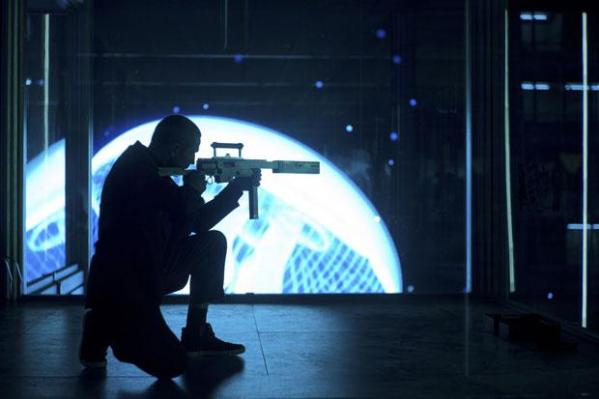 The Shanghai assassination sequence is one of the highlights of Skyfall, aesthetically at least.